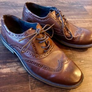 Classic Brown Oxford Shoe